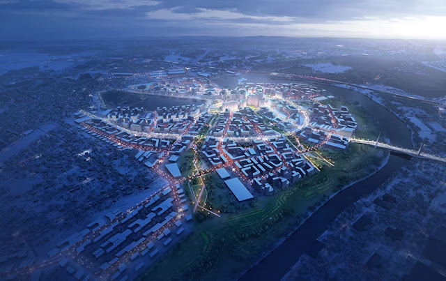 ZAHA HADID ARCHITECTS SÉLECTIONNÉ POUR CONSTRUIRE UNE NOUVELLE VILLE INTELLIGENTE À L'OUEST DE MOSCOU