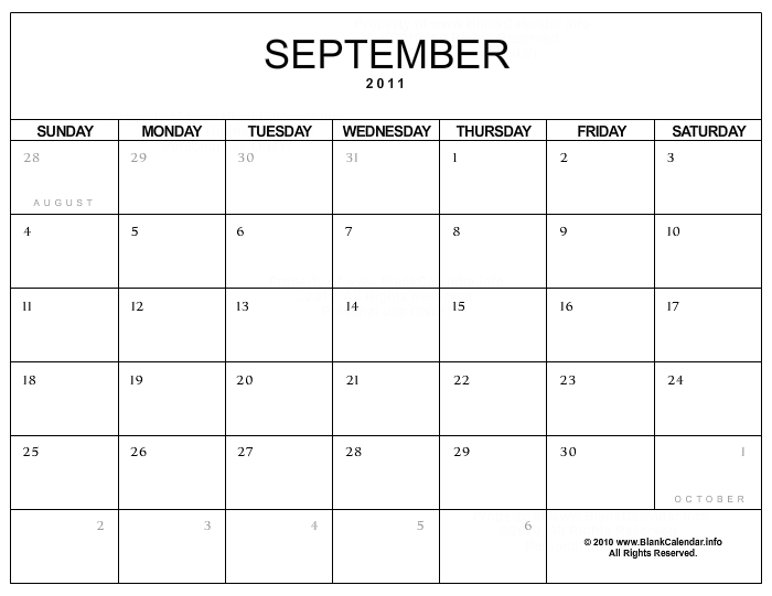 Calendar Free Download For Pc : September calendar download free desktop wallpaper