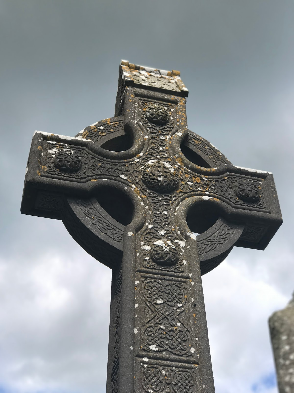 Ireland Belfast Celtic Crosses