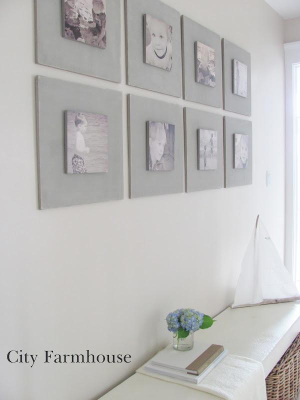 DIY Gallery Wall Tutorial - City Farmhouse