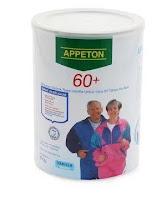 Appeton Weight Gain 60 Plus Vanilla Coklat 900 gr