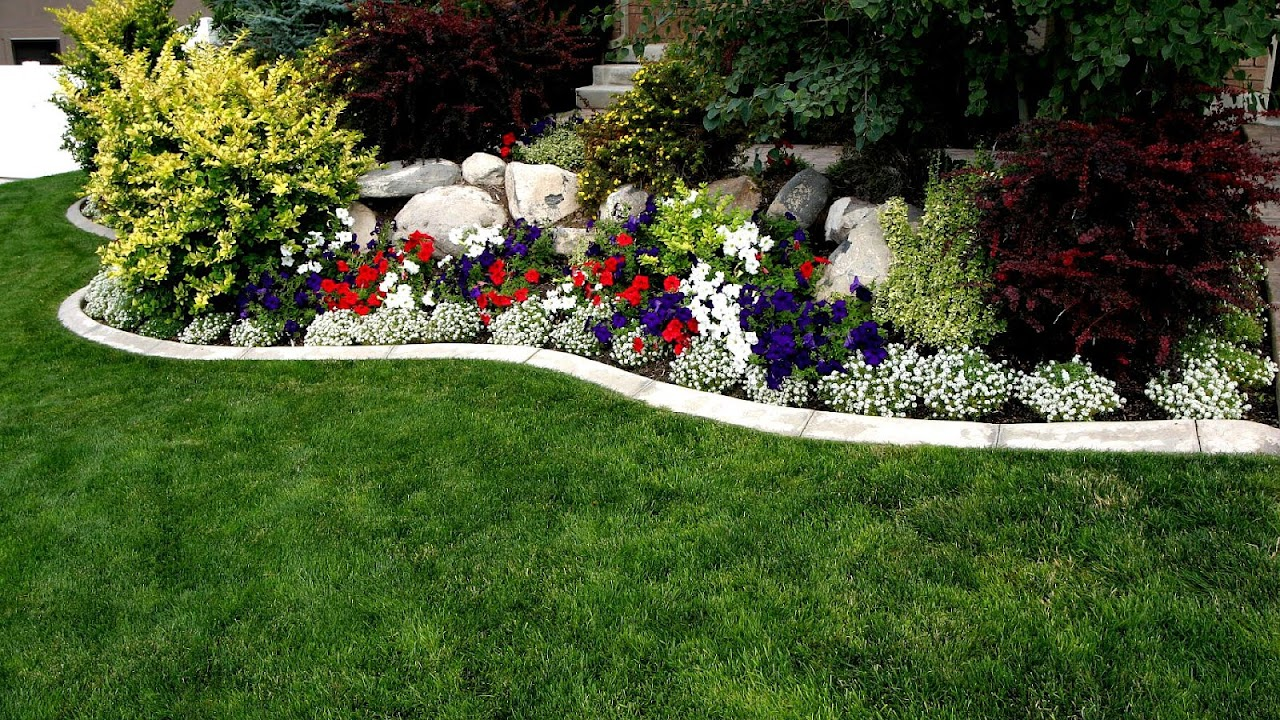 Flower Garden Landscaping Ideas Flower Choices