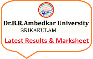 Dr BR Ambedkar University Srikakulam Results 2020