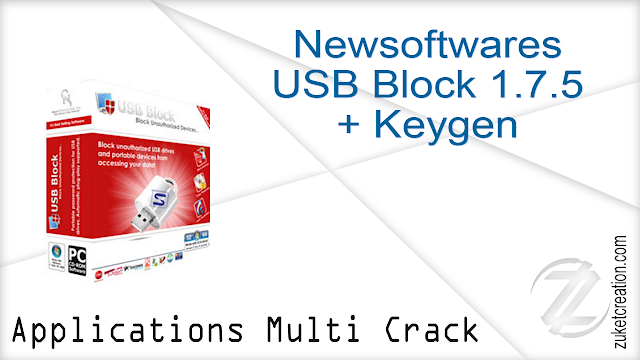 Newsoftwares USB Block 1.7.5 + Keygen