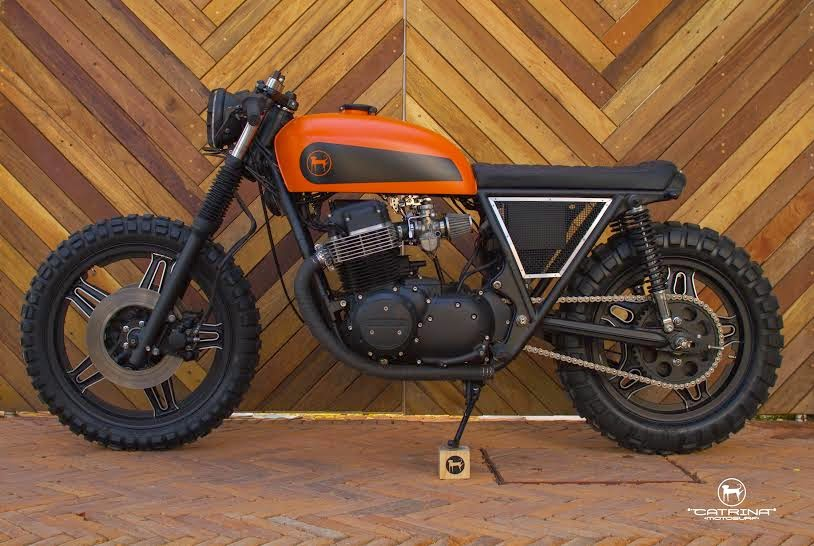 "Honda CB 750 ""Cafe Tracker"" by Catrina Moto Surf"
