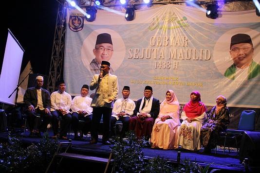 63 Kelurahan di Kota Depok Serentak Peringati Maulid