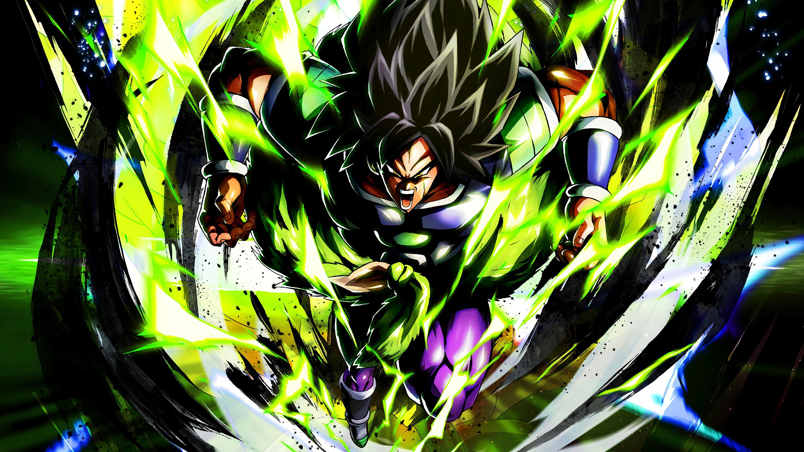 Dragon Ball Super Broly 4k 3840x2160 Wallpaper 15