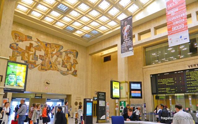 Transporte em Bruxelas, Estação Central