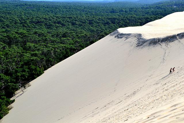 la dune du pyla in francia la pi grande d 39 europa girovagate idee di viaggio. Black Bedroom Furniture Sets. Home Design Ideas