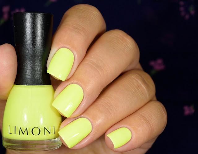Limoni Neon Collection 591 на белой подложке