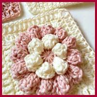 Granny popcorn a crochet