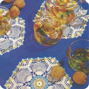 Tapete hexagonales a Crochet