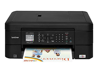 one has an automatic document feeder addition automatic duplex  Brother MFC-J460DW Printer Driver Downloads