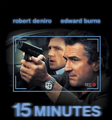 Poster Of 15 Minutes (2001) Full Movie Hindi Dubbed Free Download Watch Online At worldfree4u.com