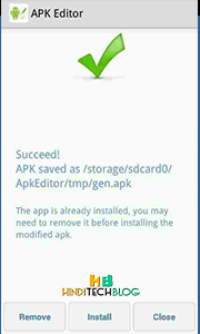 Apk Editor Screen 3