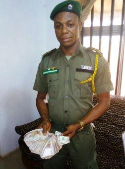 nigerian soldier arrested robbery ogun state