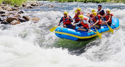 places for rafting in india