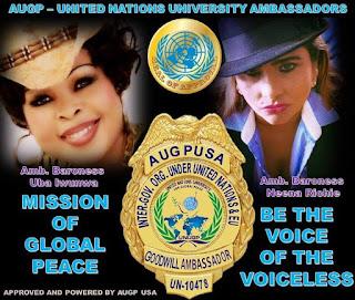 AUGP Ambassador Baroness Uba Iwunwa and Ambassador Baroness  Neena Richie