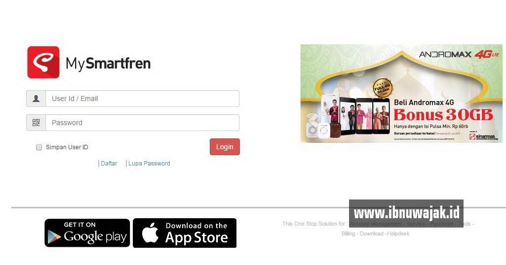 Review Website MySmartfren Kemudahan Dan Fitur Jadi