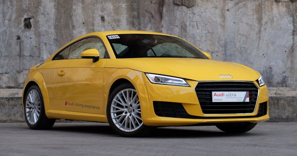 review 2016 audi tt philippine car news car reviews prices carguide ph. Black Bedroom Furniture Sets. Home Design Ideas