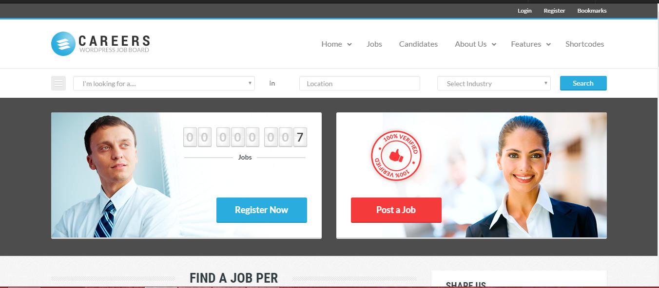 Careers Premium Job board theme