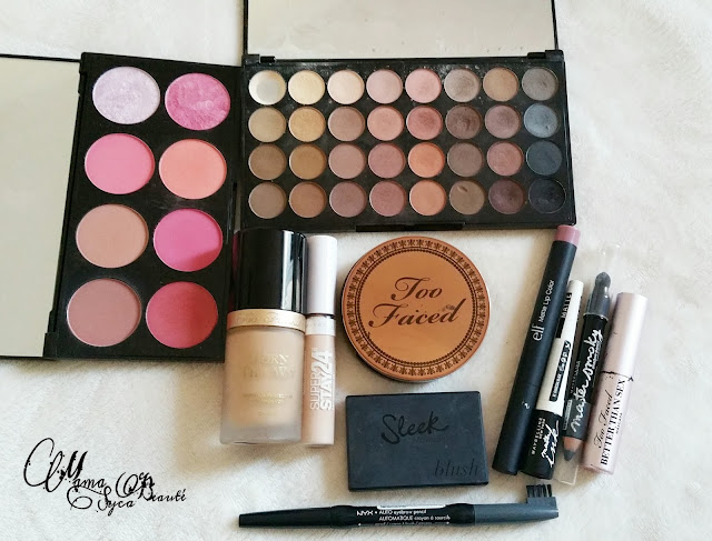 blog beauté makeup makeup revolution blush sugar and spice
