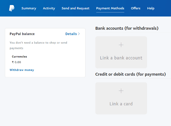 Step 7 Choose the payment method