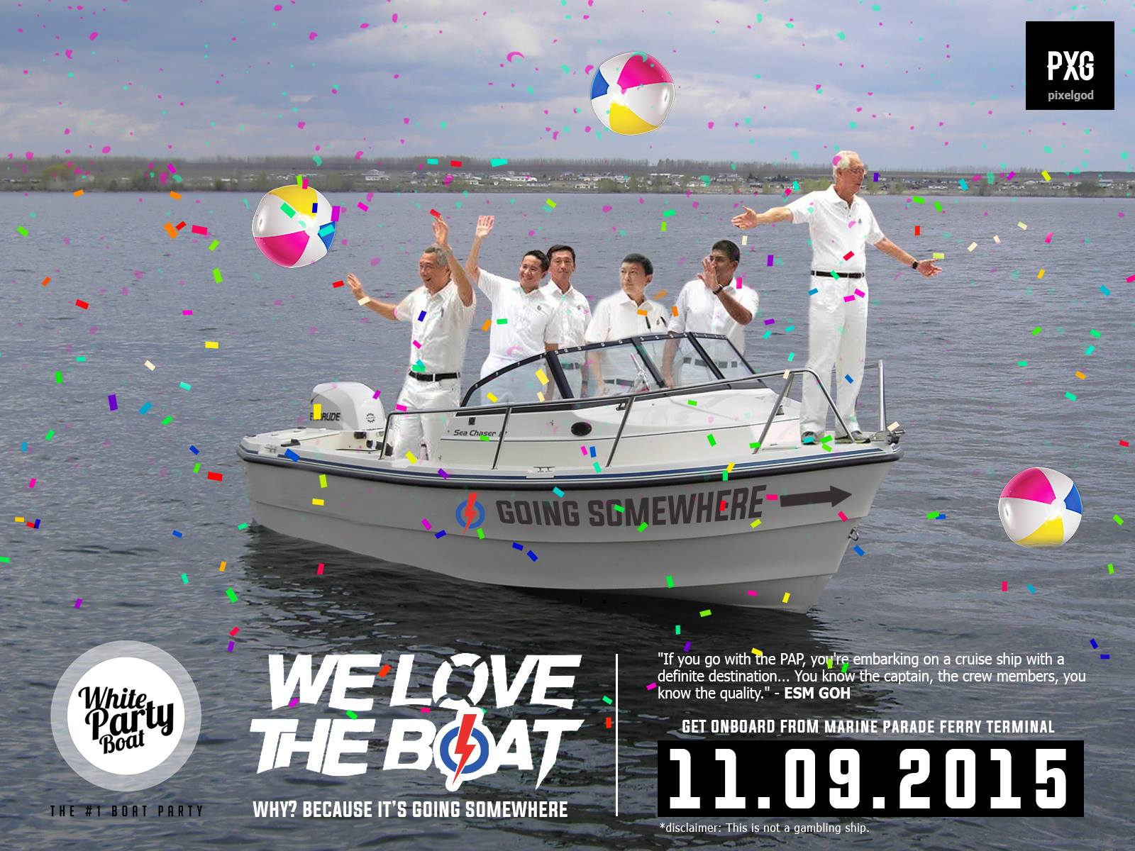 Psst... there is a secret boat party going on. Invites only. Ai lai mai?