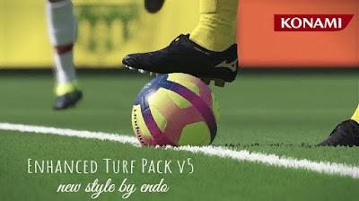 PES 2019 Enhanced Turf Pack V5 Reshade by Endo