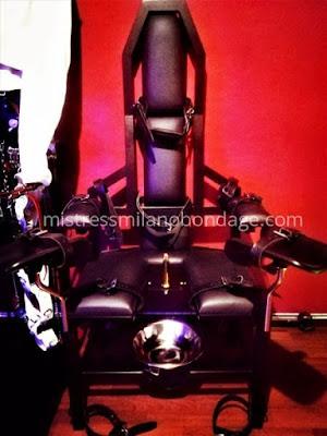 sedia ginecologica per sistema bondage leather kink