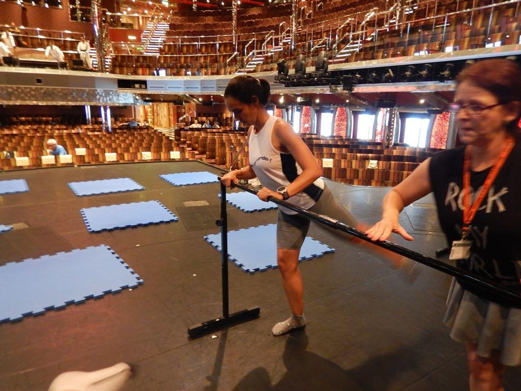 Aula de Ballet Fitness no Cruzeiro Fitness