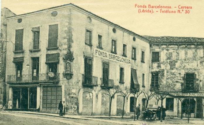 Fonda Barcelonesa, Cervera.