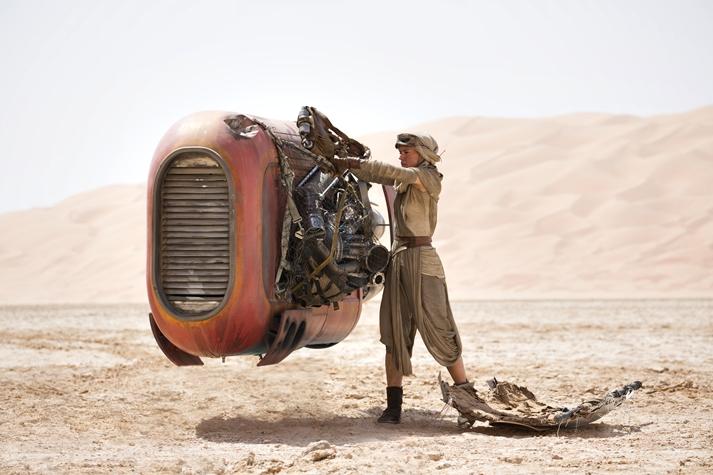 Star Wars: El despertar de la Fuerza.