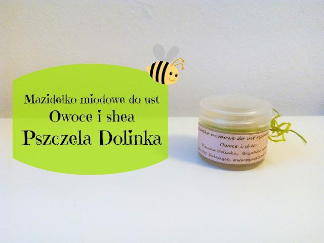 RECENZJA: Mazidelko miodowe do ust | Pszczela Dolinka
