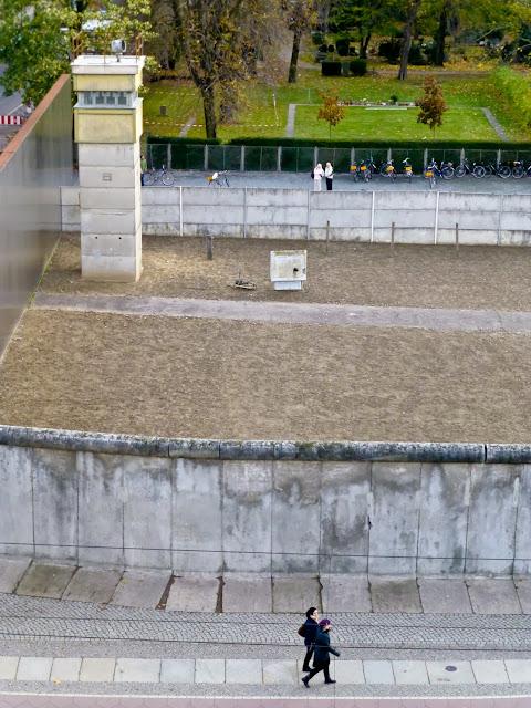 El Muro y la Franja de la Muerte, Berlin