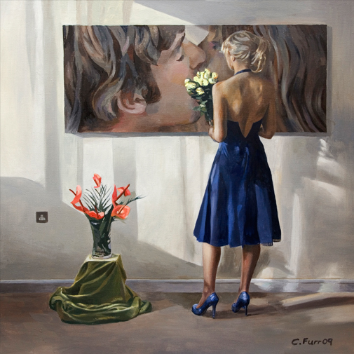 "British Portrait Artist ""Christian Furr"" 1966"