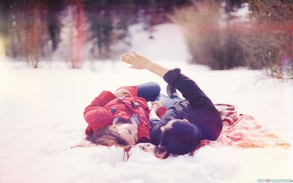 Cute Couple Sleep love Romantic HD Photos