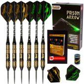 Ignat Games Steel Tip Darts Poison Arrow, 24 Grams