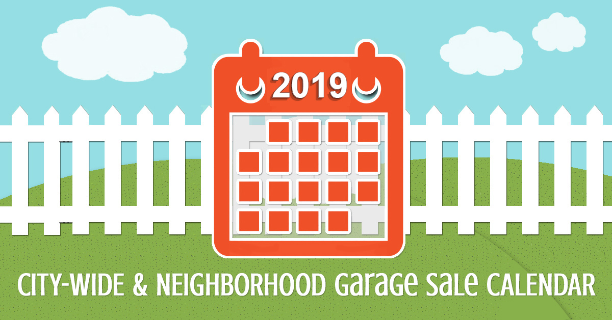 Citywide and Neighborhood Garage Sale Calendar