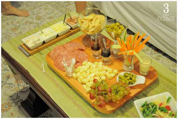 mesa aperitivo