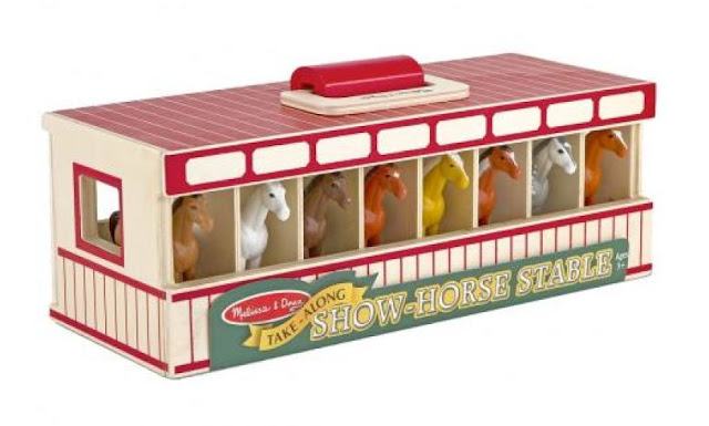 Horse stable melissa and doug