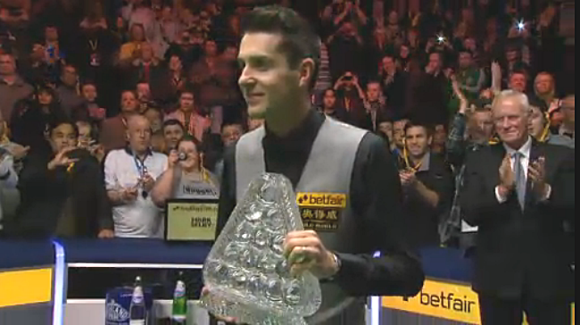 Snooker, my love: Déjà vu win for Mark Selby