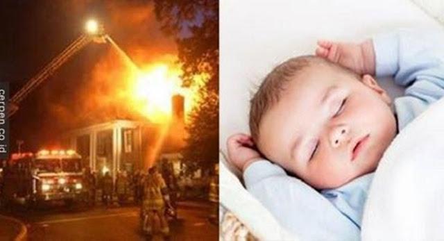 HEBOHH..!! Bayinya Dinyatakan Meninggal Dilalap Si Jago Merah, Tapi Setelah 7 Tahun Inilah yang Terjadi Dengan Bayinya, Merinding Bacanya.. !