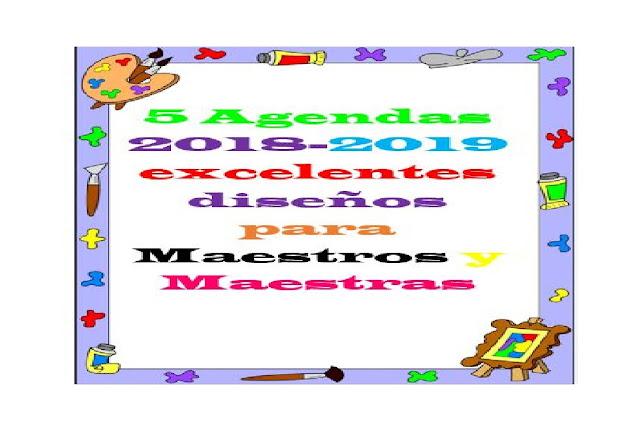agendas,primaria,actividades,preescolar,