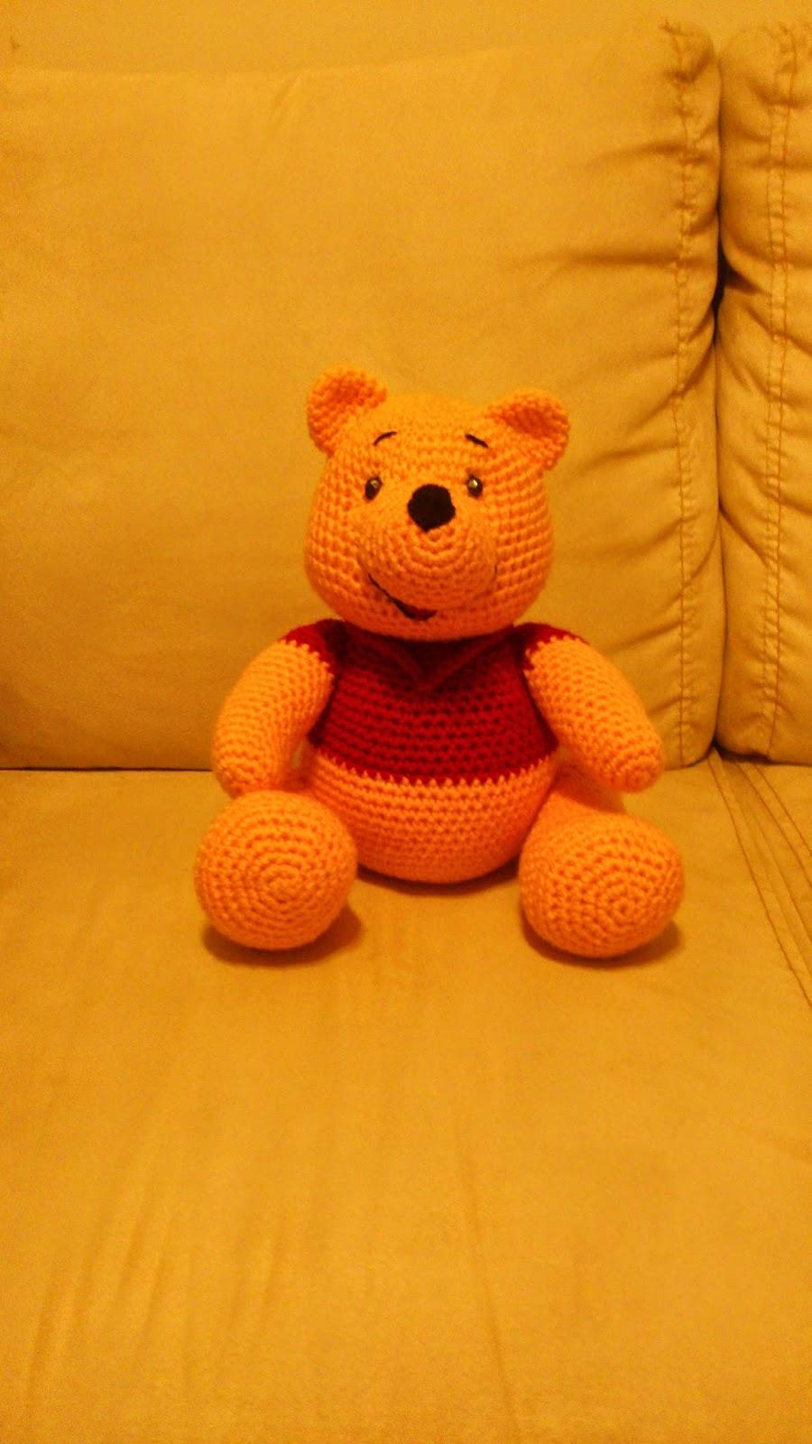 Amigurumi Winnie the Pooh - FREE Crochet Pattern / Tutorial in ... | 1600x900