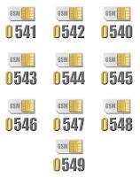 0540'lı GSM operatör hat kodları