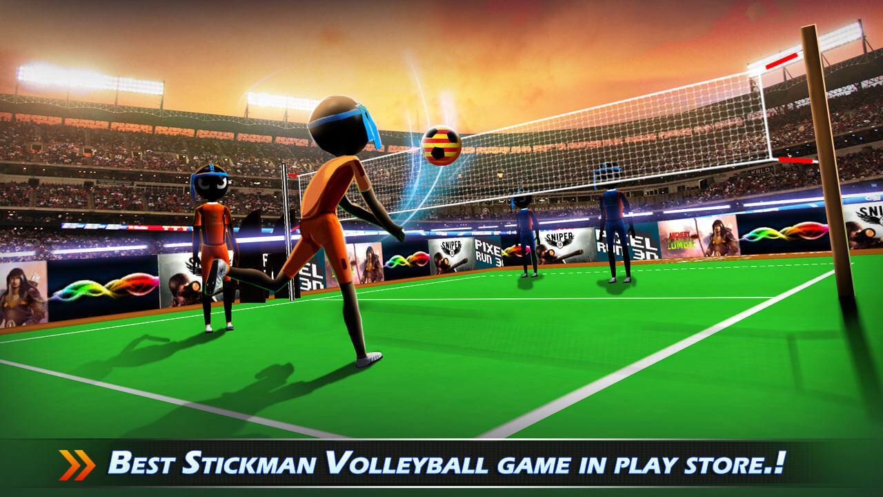 Download Stickman Volleyball