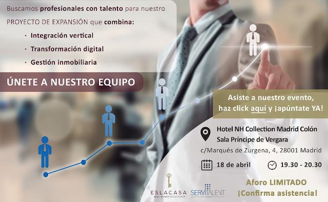 Servitalent busca Talento para el sector Inmobiliario
