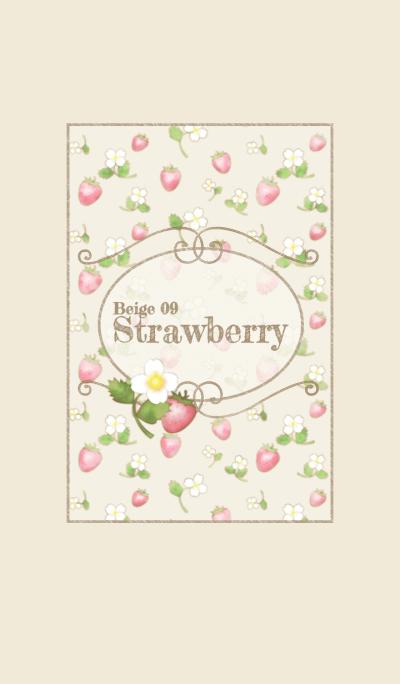 Strawberry/Beige 09