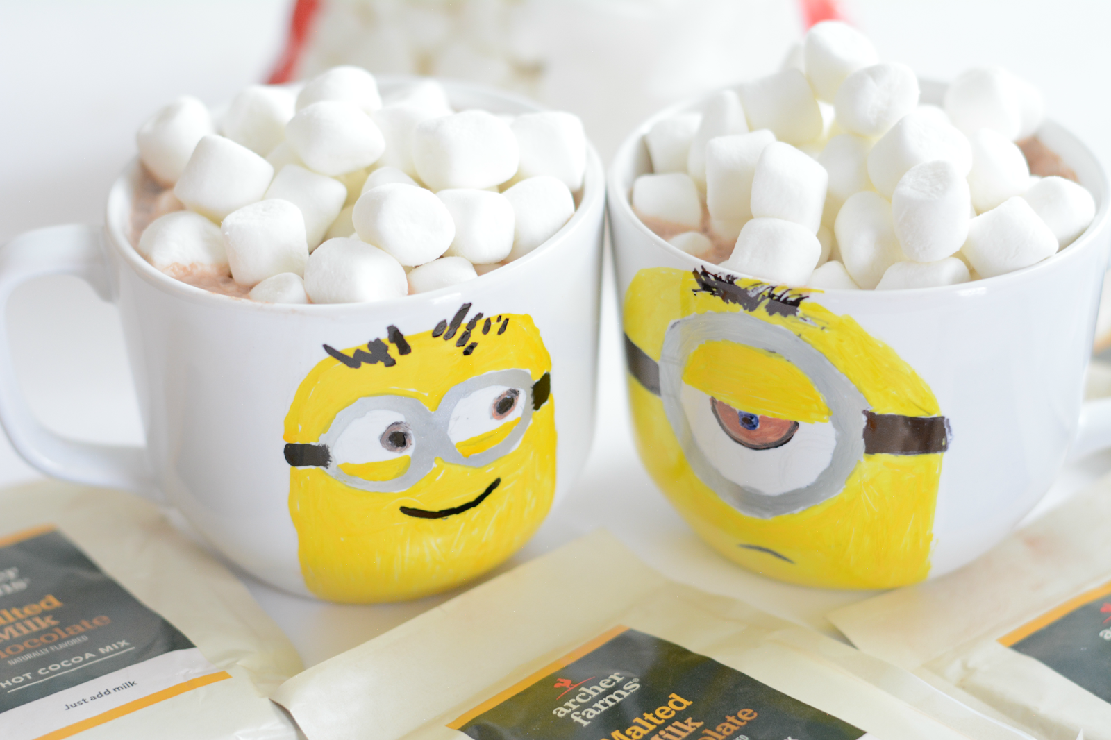 diy minion mugs